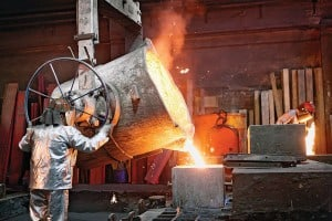 Steady growth in industrial activity: before 2009 Middle East