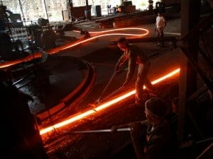 A big boost to the production of steel