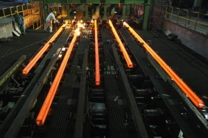 The steel demand in most of the parts in the world